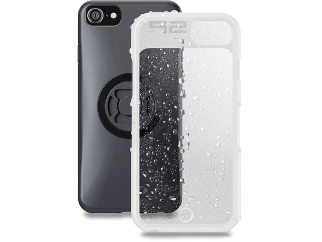 SP Connect Weather Cover iPhone 8/7/6S/6 schwarz-transparent